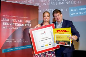 PlanetHome erhält als einziger österreichischer Immobilienmakler das Top Service Qualitätssiegel 2017 für Kundenorientierung