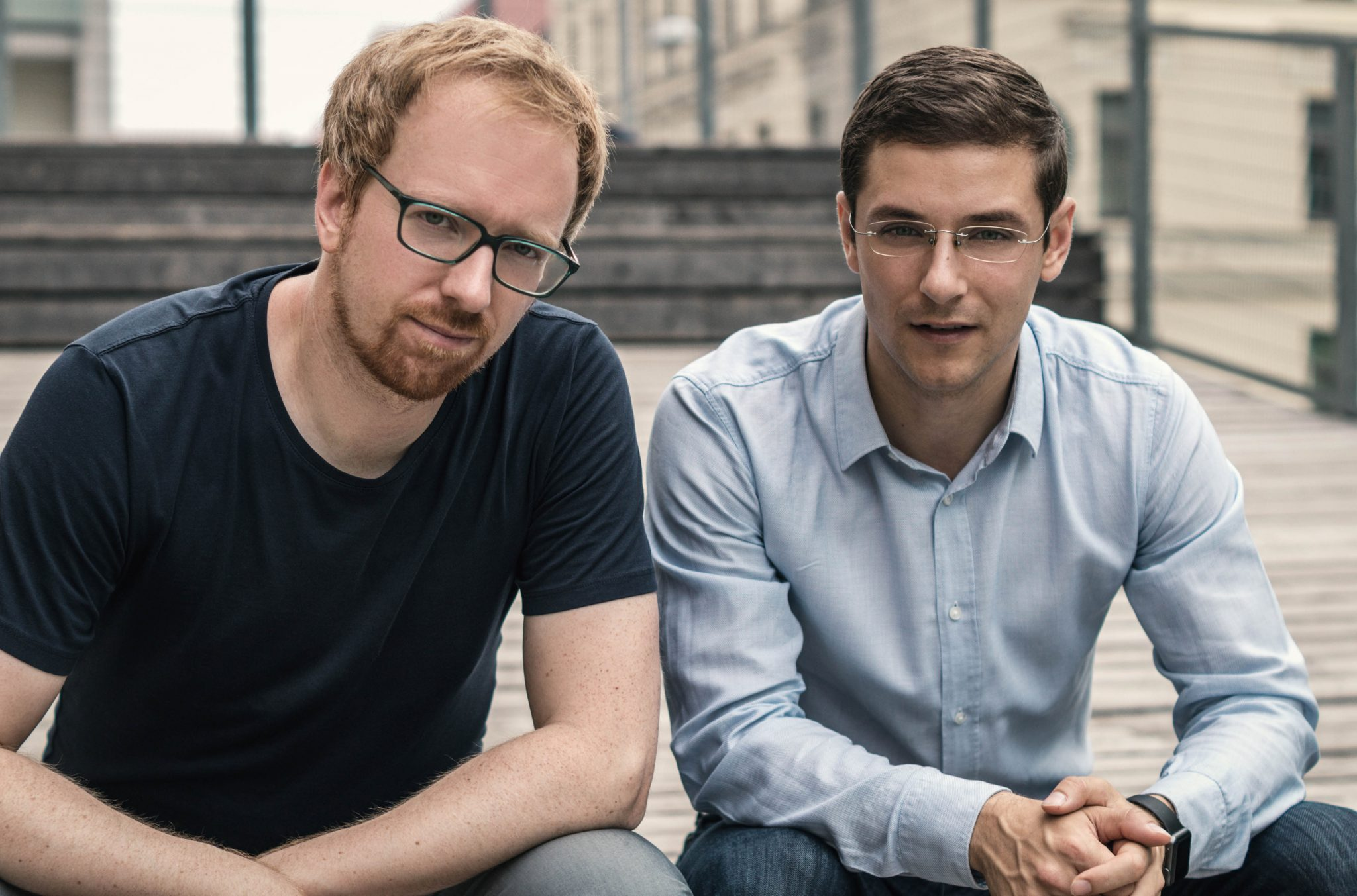 Die CINN-Gruender Josef Korntheuer und Ivan Stojkovic