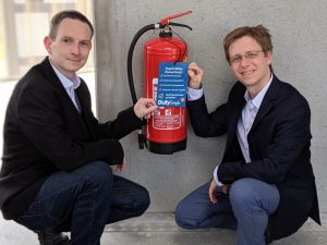 Alexander Stolar und Helmut Niessner.