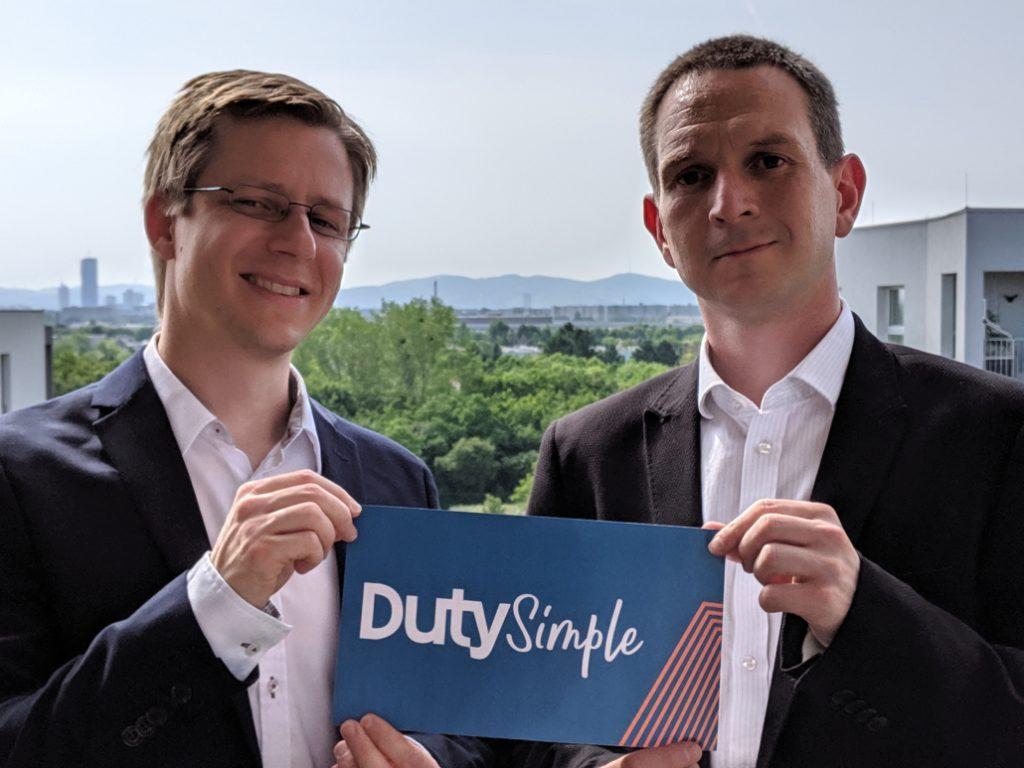 Die DutySimple-Gründer Helmut Niessner und Alexander Stolar.